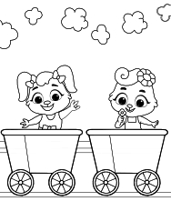 Looking for fancy and stylish train coloring pages? Train Track Coloring Pages For Kids