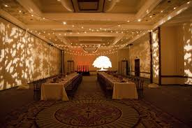 string lighting indoor. One Section Of The Grand Ballroom, Leaf Wall Gobos And String Lighting Indoors Indoor O