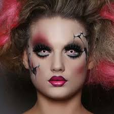 horror doll costume scary doll makeup