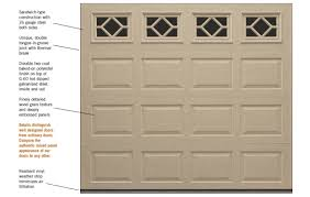 general doors offers wood wood composite carriage overhead garage doors raised flush panel steel wood flat panel aluminum wood