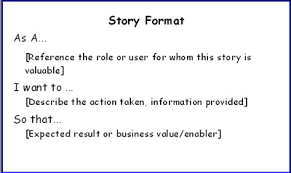 Agile Story Card Template Word Agile In A Flash Story Format