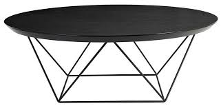 Delightful Coffee Table:Custom Made Como Round Coffee Table Black Round Coffee Table  Small Black Coffee