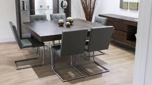 Dark Grey Dining Chairs Cult Living Rua Wooden Dining Chair Dark - Brown dining room chairs