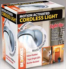 Ideaworks Motion Activated Cordless Light Motion Activated Cordless Light