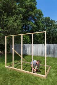 build a salvaged window greenhouse
