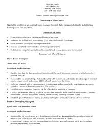 22 Free Bank Branch Manager Resume Samples Sample Resumes