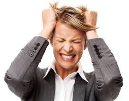 the most frustrating facts about office politics bonnie marcus frustrated businessw tearing out hair