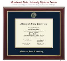 embossed diploma frame university bookstore morehead state university diploma frame embossed