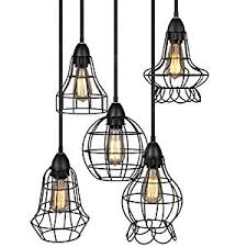industrial lighting fixture. this looks like industrial lighting you might see on a construction site or old warehouse u2013 well thatu0027s the idea 5 pendant chandelier with vintage fixture