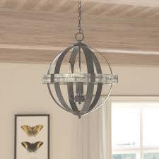 laurel foundry modern farmhouse pearl 4 light candle style refer to 4 light chandelier