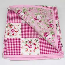 Daisy May' Patchwork Quilt - Runny Babbits & Daisy-May-patchwork-cot-quilt-flipback-Q000111 Adamdwight.com