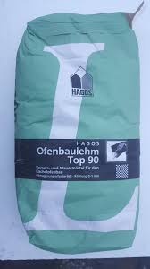 20 Kg Hagos Ofenlehm Top 90 Lehmmörtel Ofenbaumörtel Lehm Reparaturlehm Naturbaustoffe Nord