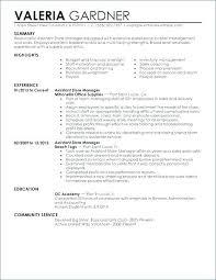 fast food resume samples resume job descriptions retail manager