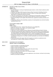 Resume Sample For Nursing Job Float Pool Nurse Resume Samples Velvet Jobs 31