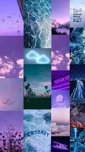 aesthetic purple and blue wallpaper ...