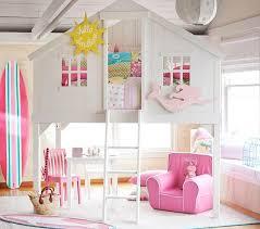 white treehouse loft girls bed
