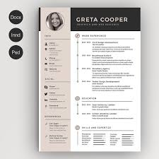 Creative Resume 24 Creative Resume Templates You Won't Believe are Microsoft Word 1