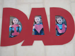 I Love You Crafts Fathers Day Idea Fine Picture Photo Craft Keepsakes And Dads