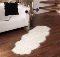 faux fur rugs purple sheepskin rug