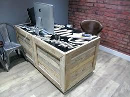 pallet furniture desk. Wood Pallet Desk Plans How To Build A From Wooden Pallets Furniture .