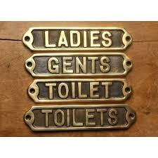 Bathroom sign for home Classy Bathroom Door Signs For Home Railway Toilet Signs Brass Toilet Sign Home Bathroom Door Publikace Bathroom Door Signs For Home Railway Toilet Signs Brass Toilet