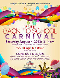 Back To School Invitation Template Back To School Rallies And Carnival Set For Saturday Aug 4