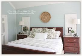From My Front Porch To Yours  French Farmhouse Bedroom Makeover SW 6211  Rainwashed