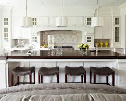 Small Picture white kitchen walnut countertop martha o hara interiors