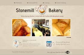 Bakery Website Mocking Screen Baltimore Web Design Pets
