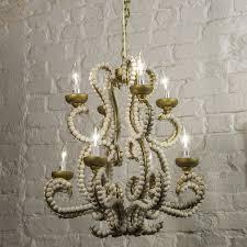 beaded chandelier dining room chandeliers white chandelier wood bead chandeliers
