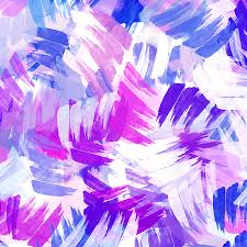 Abstract Pattern Adorable Purple Abstract Paint Pattern Mixed Media By Christina Rollo