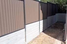 slacks creek retaining wall and fence