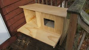 vxpdirc outside cat house plans outdoor heated al on imgur diy storage bin for winter