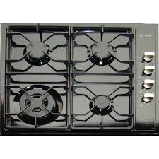 24 inch gas cooktop. Plain Cooktop Verona VECTG424SE 24Inch DropIn Gas Cooktop  Black For 24 Inch E