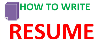 how to write a simple resume how to make an simple resume youtube
