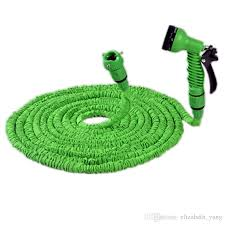 25 ft garden hose. Hot Selling 25FT Expandable Magic Flexible Garden Hose For Car Water Pipe Plastic Hoses To Watering With Spray Gun Green 25 Ft