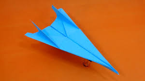 Paper Airplane Designs That Fly Far How To Make A Throwing Paper Plane That Flies Far Best