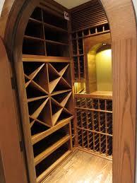 closet wine cellar design traditional wine cellar