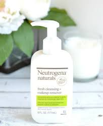 neutrogena naturals fresh cleansing makeup remover 280k