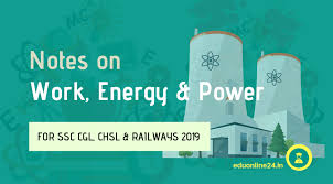 Notes On Work Energy And Power Ncert Class 9 For Cbse