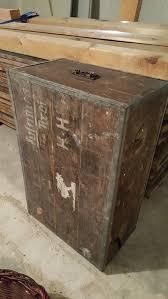 Alte Antike Holzkiste Truhe
