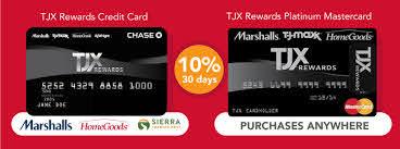 marshalls credit card review