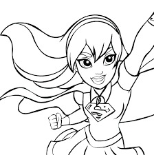 Batgirl Coloring Page Coloring Pages Printable Girl Blank Face Page