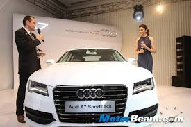 new car launches audiAudi Launches A7 Sportback In India
