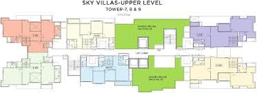 images for cer plan of bhartiya nikoo homes 28