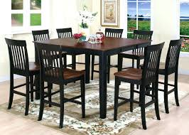 round high top table and chairs bar height dining kitchen set for 2 glamorous furniture dining room table