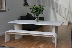 white dining bench. Lovable Modern Dining Table Bench Room Amazing Set As White V