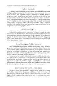 studying food deserts through different lenses the public  page 33