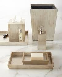 Bathroom Vanity Tray Decor Impressing Luxury Bath Accessories At Neiman Marcus Of Bathroom 77