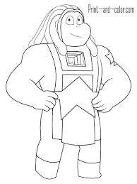 Coloring Pages Steven Universe Printable Free